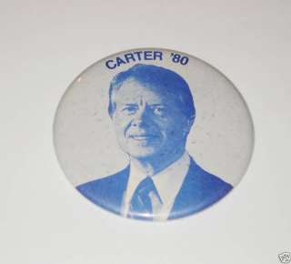 JIMMY CARTER Pin pinback badge button Campaign 1980