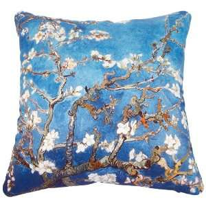 Van Goghs Almond Blossom Canvas Cotton Cushion Pillow Cover 17/18