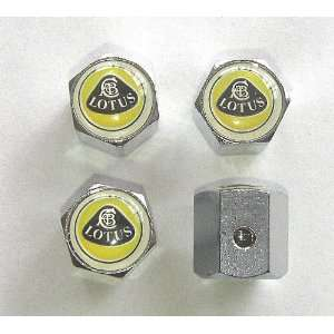 Lotus Anti theft Car Wheel Tire Valve Stem Caps