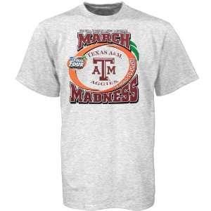 Aggies Light Ash 2007 March Madness T shirt