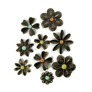 : We R Memory Keepers   Good Day Sunshine Collection   Metal Flowers