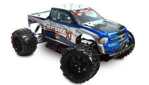scale RC Truck body Blue XT with decal sheet ATV070 BL