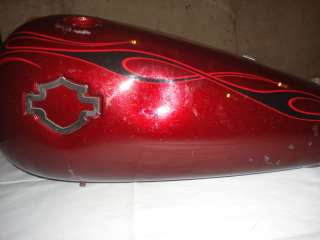 Harley Davidson Rocker C Softail FXCWC Gas Tank Swingarm Oil Tank
