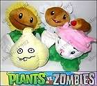 New with tag Plants Vs Zombies (PVZ) Cattail Plush Soft Toy 6