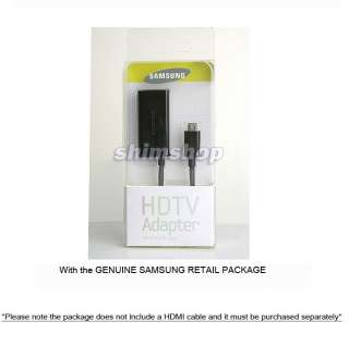 GENUINE SAMSUNG GALAXY NOTE I9220 N7000 CASE COVER OTG HDTV MHL HDMI