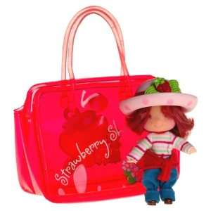 Cute Girls 2.5 Strawberry Shortcake with Berry Tote: Toys & Games