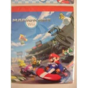 Nintendo Mariokart Wii Super Mario 30 Sheet Sketch Pad