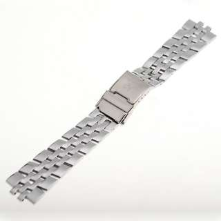 KS Official Stainless Steel Silver Color 22MM Watch Band Bracelet Pin