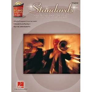 Standards   Trombone   Big Band Play Along Volume 7   Book