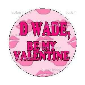 Pinback Button 1.25 Pin / Badge LOVE Valentines Day Miami Heat