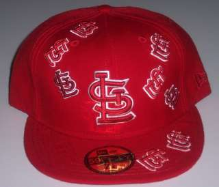 St. Louis Cardinals New Era 5950 hat Fitted 7 3/4