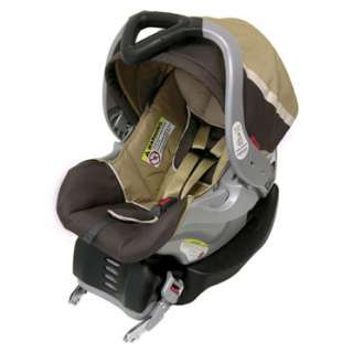 Baby Trend VANILLA BEAN Jogging Travel System Stroller CAR SEAT and