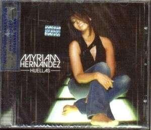 MYRIAM HERNANDEZ, HUELLAS. FACTORY SEALED CD. IN SPANISH.