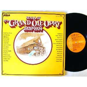 Stars of the Grand Ole Opry 1926 1974; 2 LP Music