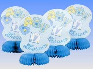 Honeycomb Table Decorations Baby Shower Party BOY