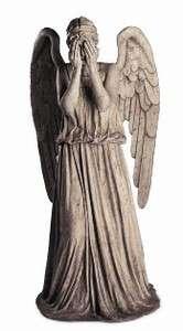 WEEPING ANGEL TABLETOP DOCTOR WHO CARDBOARD CUTOUT