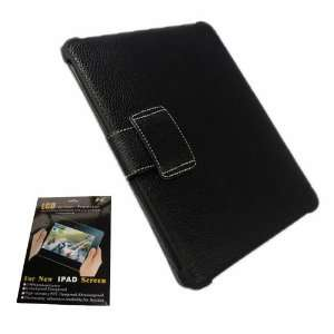 FLIP Kickstand Protective Leather Case Cover For Apple iPad with iPad
