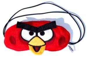 Red Bird plush eye mask sleep LICENSED Angry birds Xmas Christmas Gift
