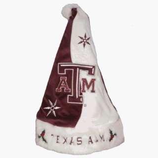 Texas A&M Aggies Santa Claus Christmas Hat   NCAA College