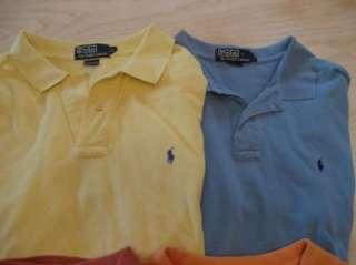Lot 4 mens POLO RALPH LAUREN s/s PONY shirts XL