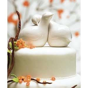 Weddingstar Contemporary Love Birds Cake Topper: Kitchen