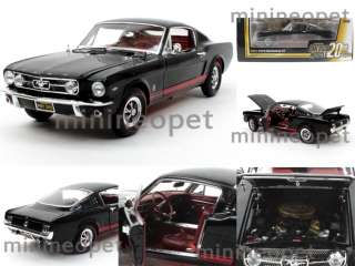 ERTL AMERICAN MUSCLE ELITE AMM965 1965 FORD MUSTANG GT FASTBACK 1/18