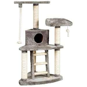 Whisker World Tri Level Cat Furniture Fun Center   Grey
