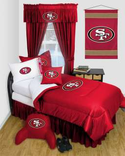 SAN FRANCISCO 49ERS *BEDROOM DECOR* **MORE ITEMS** LR
