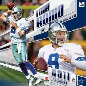 Dallas Cowboys Tony Romo 2011 12 Inch X 12 Inch Player Wall Calendar