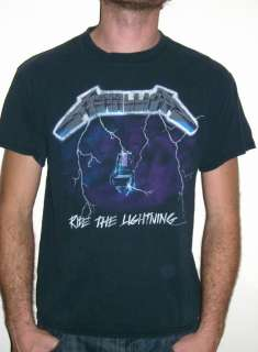 1994 METALLICA RIDE THE LIGHTNING TOUR SHIRT concert