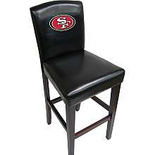 Baseline San Francisco 49ers Pub Chairs  Set of 2   NFLShop