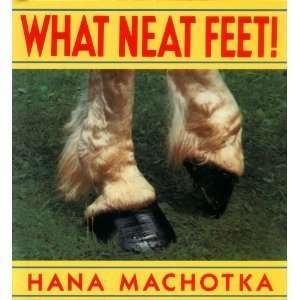 What Neat Feet! (9780688094751): Hana Machotka: Books