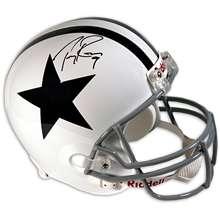 Mounted Memories Dallas Cowboys Tony Romo Autographed Helmet