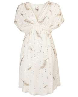 Haute Hippie Embellished Feather Dress   Knit Wit   farfetch