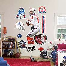 Fathead New England Patriots Tom Brady Wall Graphics   NFLShop