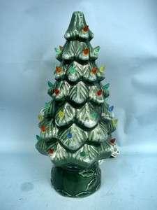 17 Ceramic Christmas Tree With Lights