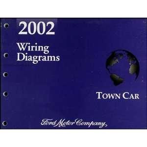 2002 Lincoln Town Car Original Wiring Diagrams Lincoln Books