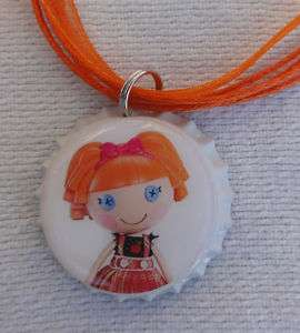 LALALOOPSY BOTTLE CAP NECKLACE BEA SPELLS A LOT