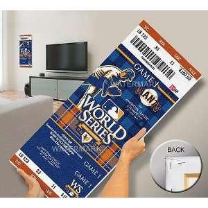 San Francisco Giants 2010 World Series Champions Mega Ticket