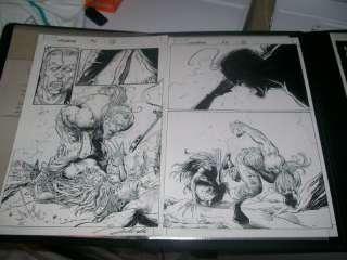 Darick Robertson Wolverine 15 pg 12 & 13 Sabretooth castration