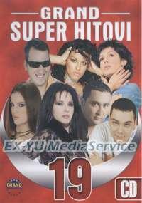 GRAND SUPER HITOVI 19   Neda Ukraden Seka Aleksic   CD