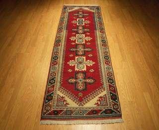 Beautiful Handmade Turkish Kula Wool Runner.