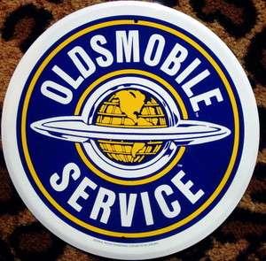 SERVICE STATION TIN SIGN VINTAGE STYLE HOT ROD GAS MOTOR OIL