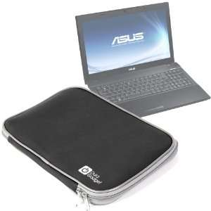 Durable Impact Resistant Black Neoprene Laptop Pouch For