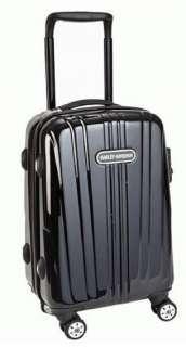 DAVIDSON® 29 BLACK CHROME WHEELING CARRY ON LUGGAGE 99929 NEW