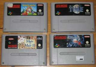 Versch. Super Nintendo SNES Spiele / Mario World Allstars in Berlin