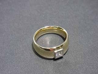 Wertvoller Diamant Ring Gold 750 mit 0.40 Carat Diamant
