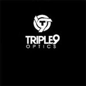 Triple 9 Optics Logo Long Sleeve T Shirt   Large/Black