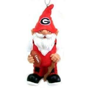 Georgia Bulldogs NCAA Gnome Christmas Ornament:  Home