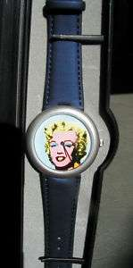 Andy Warhol Marilyn Monroe 1998 original watch